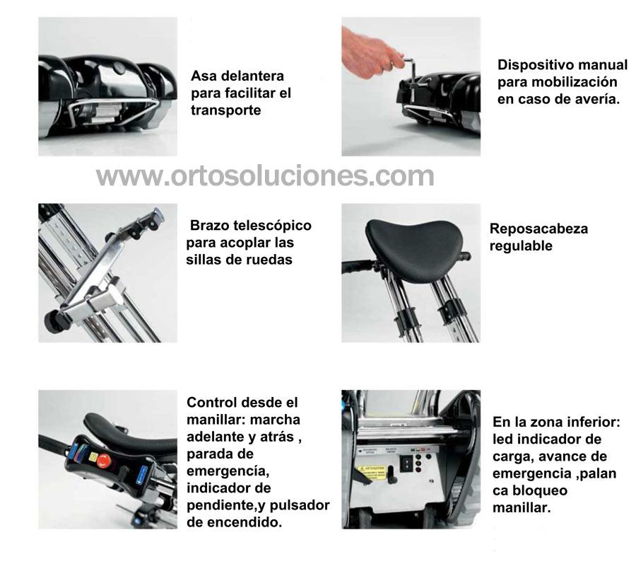 Sube escaleras sherpa n902 for Silla sube escaleras manual