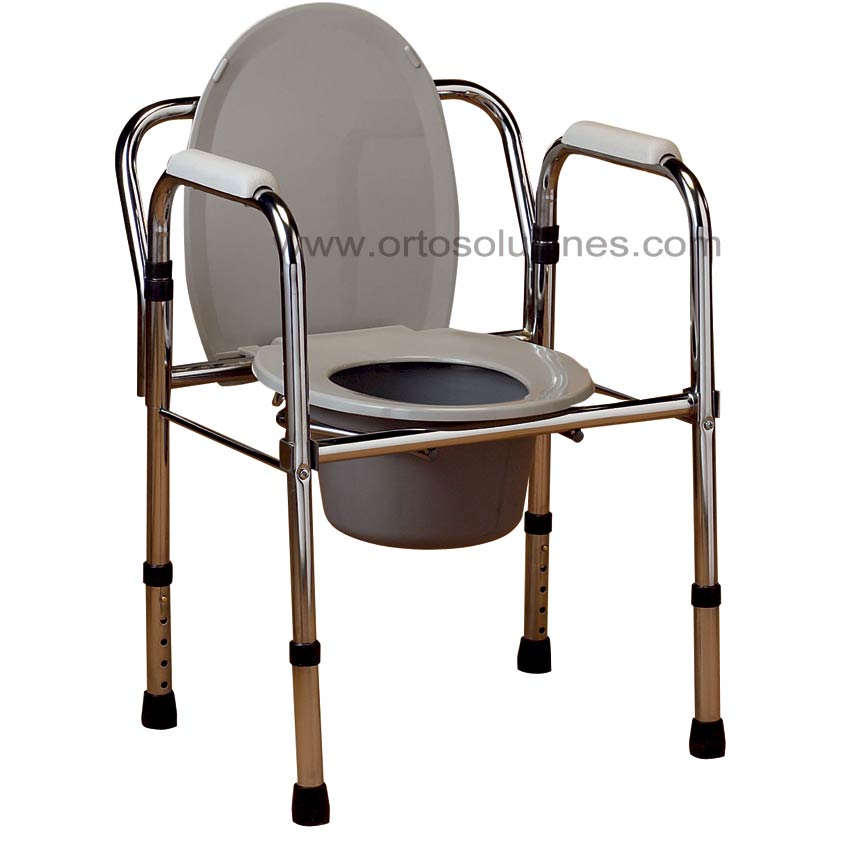 Silla de inodoro y wc for Sillas para orinar ancianos