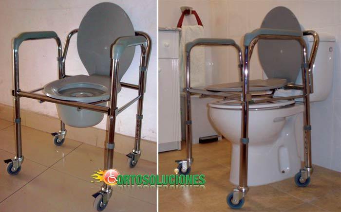 Silla de ba o con inodoro - Silla de bano para discapacitados ...