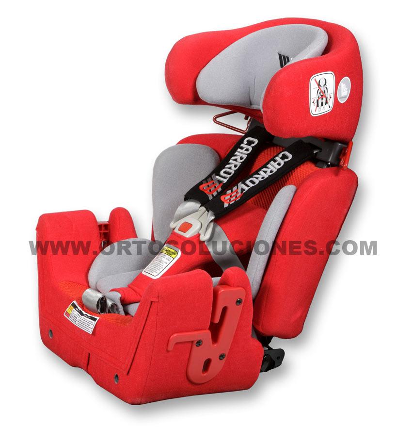 Silla asiento de coche infantil adapatdo especial para for Silla de seguridad coche