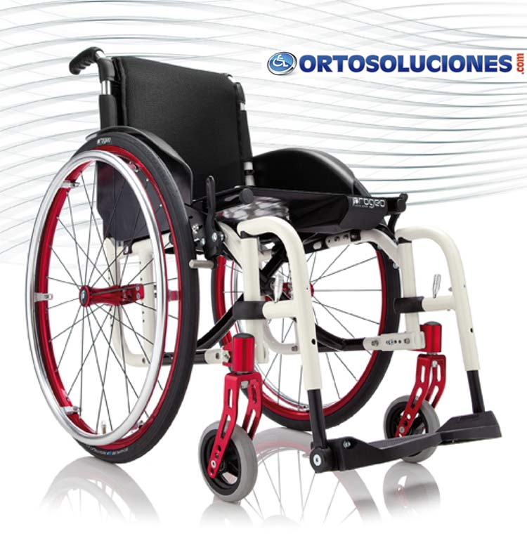 Silla De Ruedas Ultraligera: Silla De Ruedas Activa