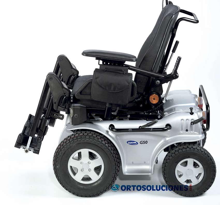 Silla el ctrica g50 invacare - Precios sillas de ruedas electricas ...