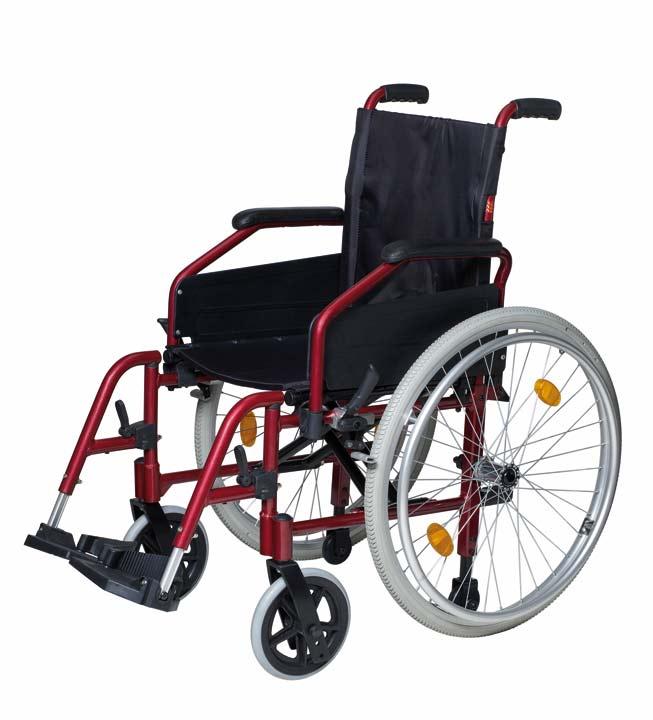 Silla de ruedas de aluminio - Sillas de ruedas estrechas ...