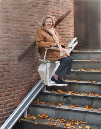Carrera contra el metro unjubilado for Silla de ruedas para subir escaleras