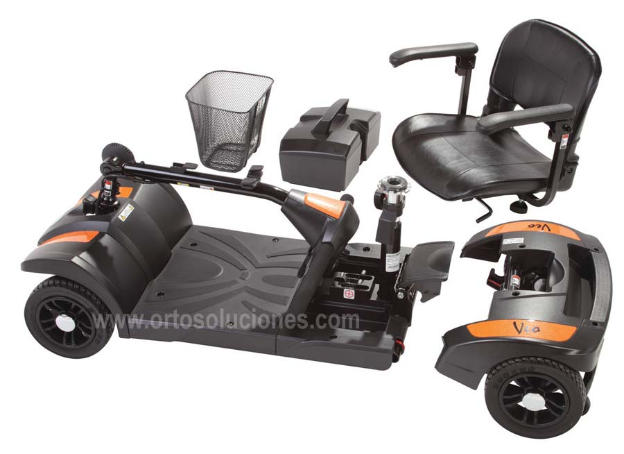 Scooter portatil y desmontable veo gama peque a for Portatil desmontable