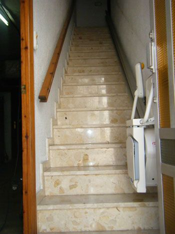 Sillas Salvaescaleras Para Escaleras Totalmente Rectas