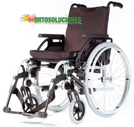 silla aluminio basix sunrise medical