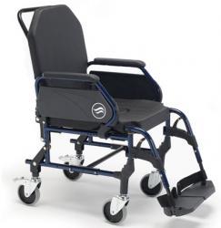 Sillas de ruedas de acero fijas