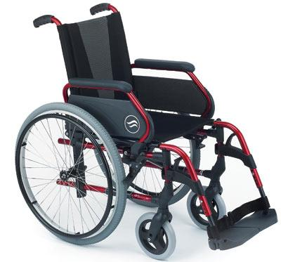Sillas de ruedas de aluminio plegables