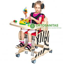 Sillas de ruedas multiposicionadoras pediátricas