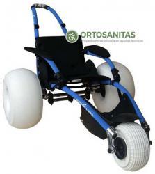 Sillas de ruedas anfibias y tiempo libre