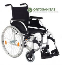 Sillas de ruedas acero plegables