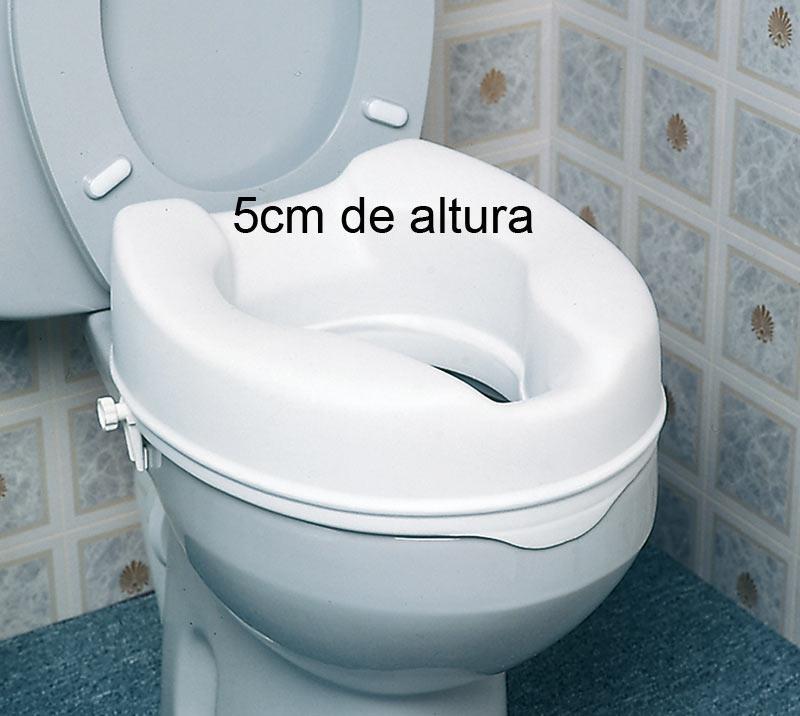 Elevadores de WC 5 cm sin tapa
