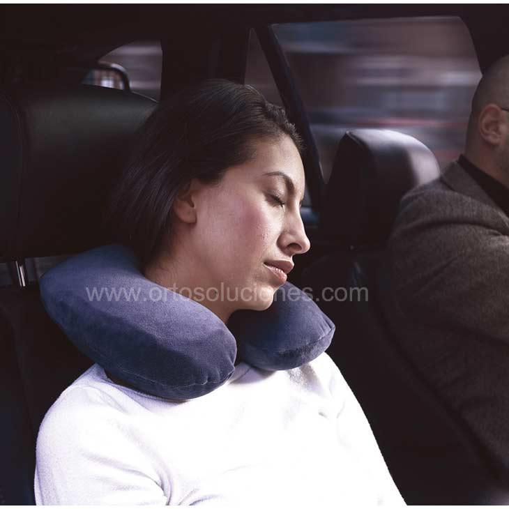 Almohada de viaje para coche