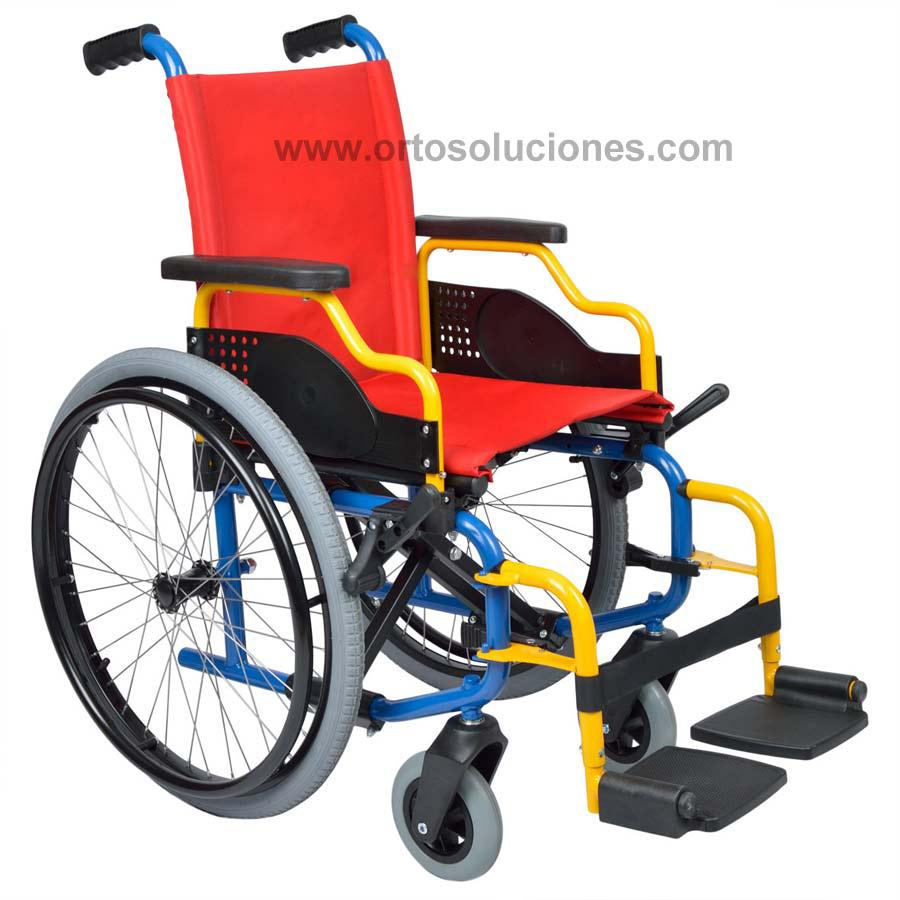 Silla de ruedas infantil liliput orto soluciones for Silla de ruedas