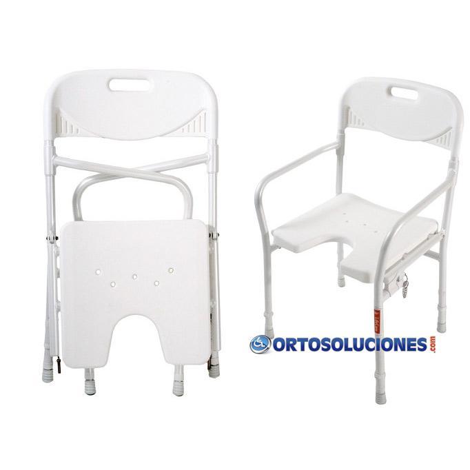 silla para ducha plegable orto soluciones