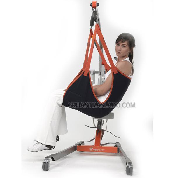 Arnés acolchado asiento respaldo virmedic
