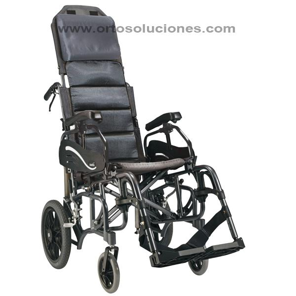 Silla de ruedas basculante plegable KARMA VIP