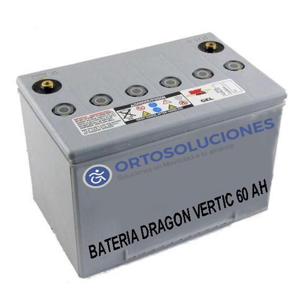 Baterías DRAGON  VERTIC 60 Ah