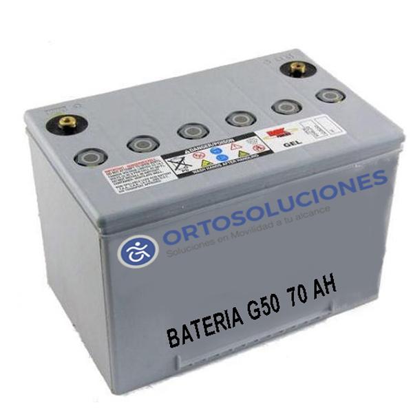 Baterías G50  70 Ah