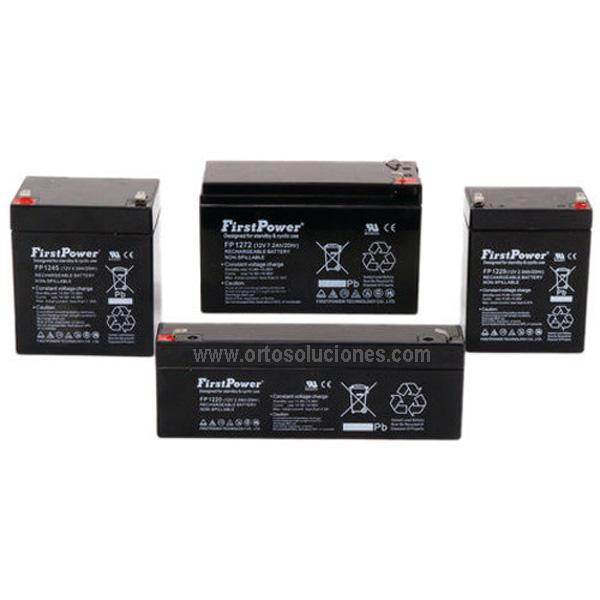 Baterías grúa eléctrica AGM 12V 2,9 Ah par