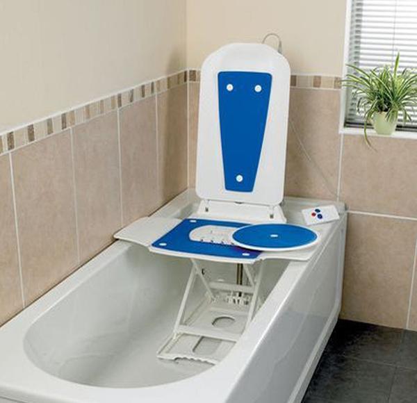 Elevador el ctrico ba era bath master orto soluciones for Perchero electrico para bano