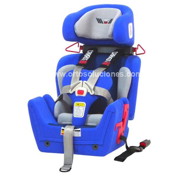 Silla coche infantil carrot 3 orto soluciones for Sillas infantiles coche