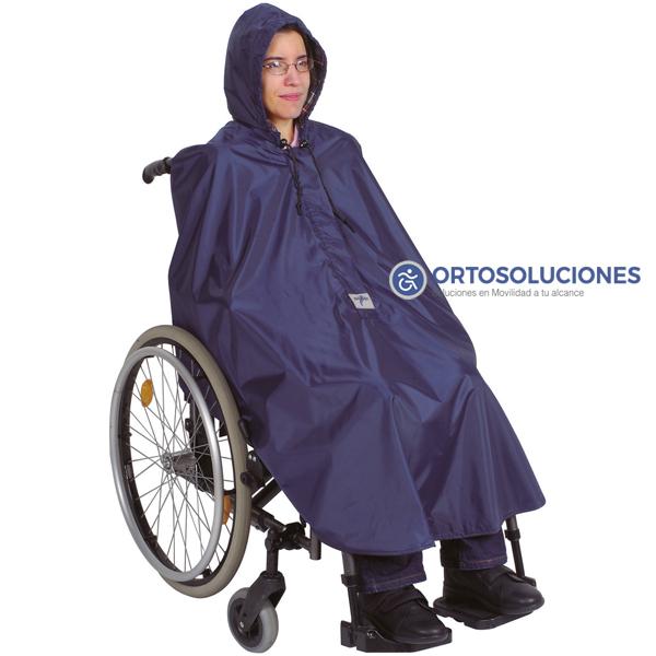 Chubasquero sillas de ruedas