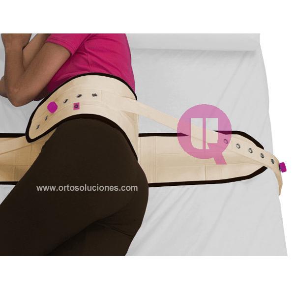 Cinturón abdominal cierre magnético cama