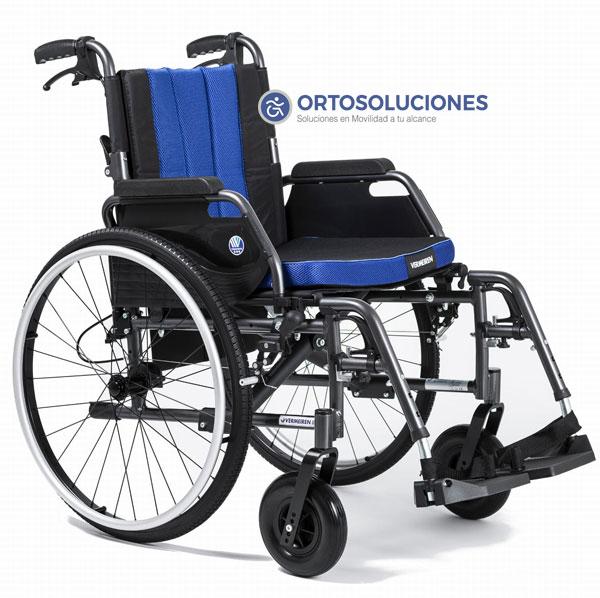 Silla de ruedas ECLIPS X2 freno acompañante