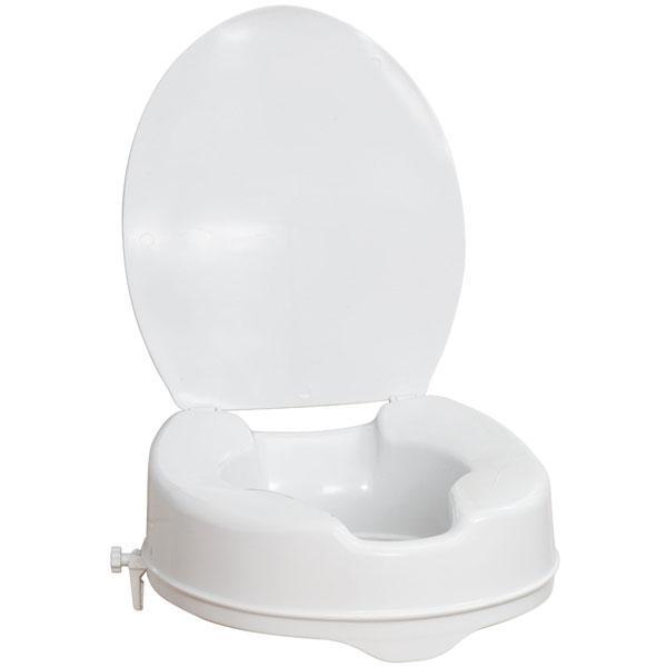 Elevador wc 10 cm con tapa orto soluciones for Elevador taza wc