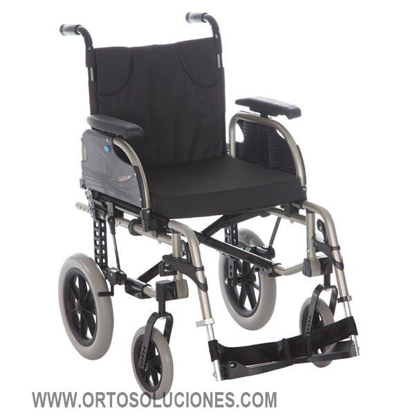 Silla de ruedas de aluminio GADES AKTIV ruedas 300 mm