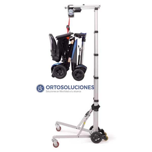 Grúa portatil HERCULES para scooter y sillas de ruedas