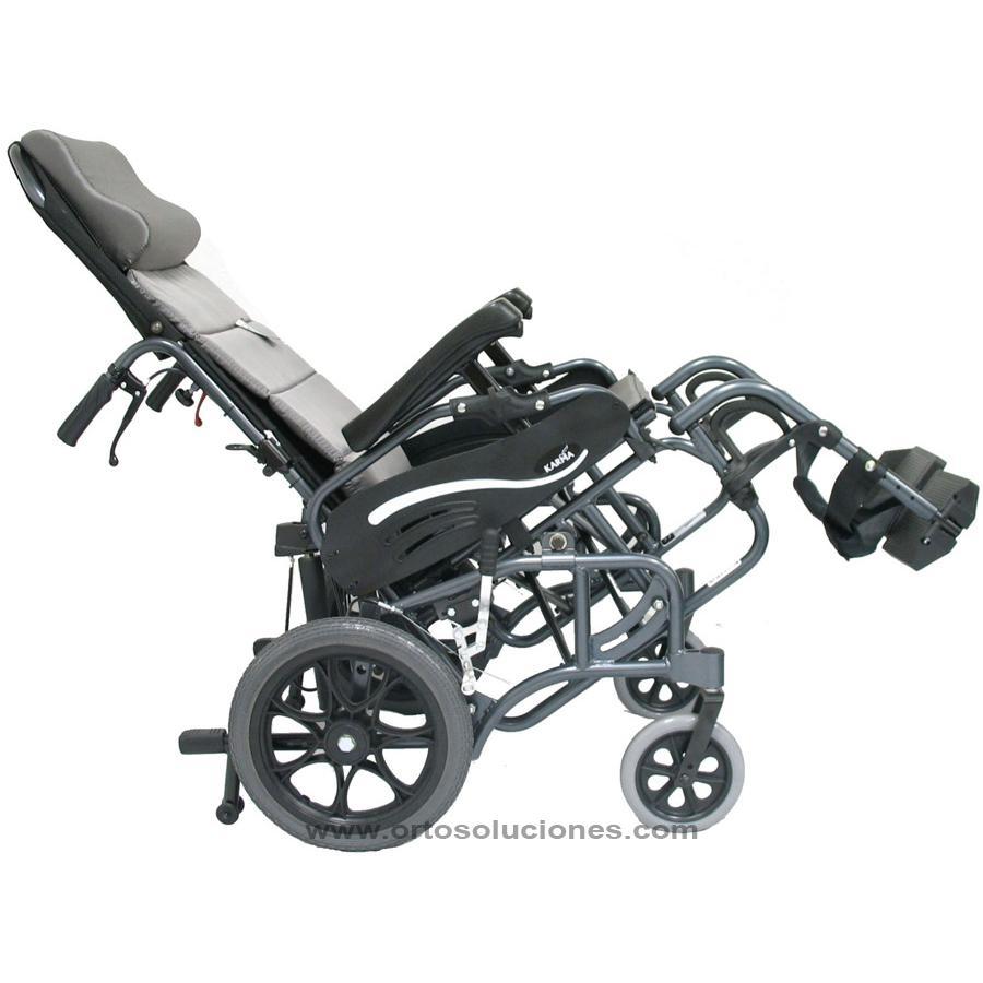 silla de ruedas basculante plegable
