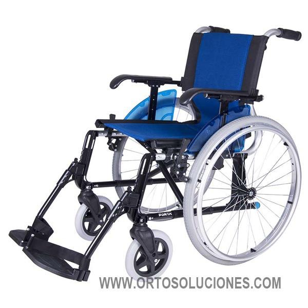 Sillas de ruedas aluminio forta line orto soluciones - Ruedas de sillas ...