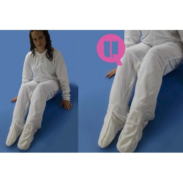 Pijama Antipañal Invierno con Pies