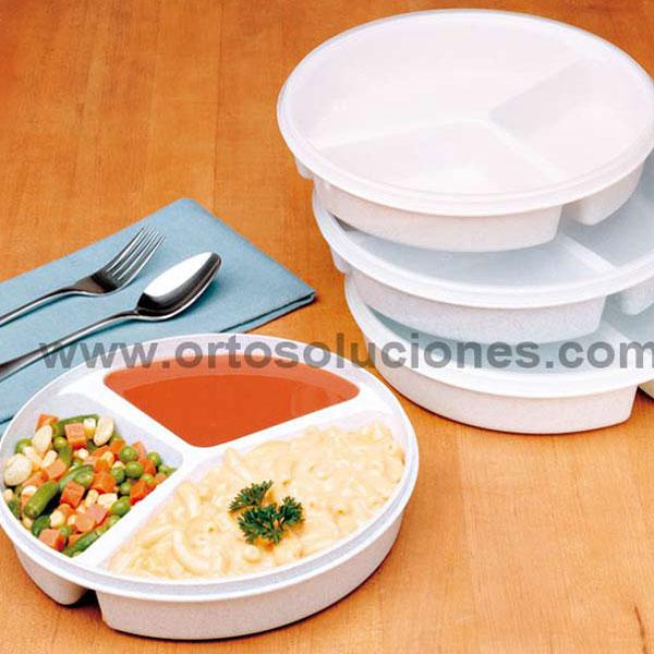 Platos con compartimentos orto soluciones for Platos con compartimentos