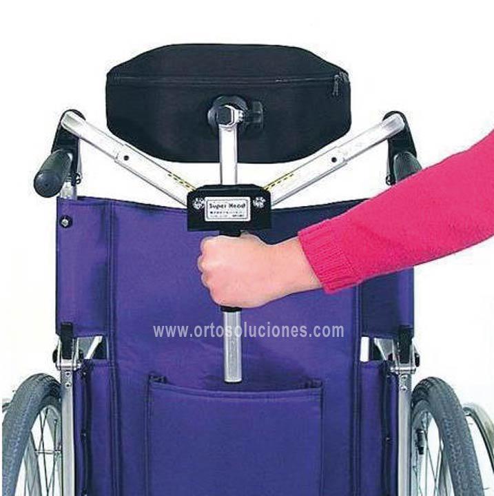 Reposacabezas plegable orto soluciones - Reposacabezas silla de ruedas ...