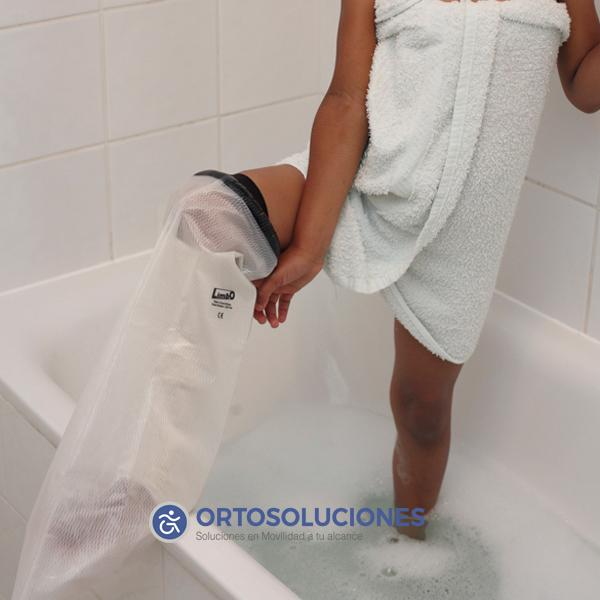 Protector impermeable pierna entera niño