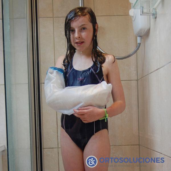 Protector yeso para niños brazo entero