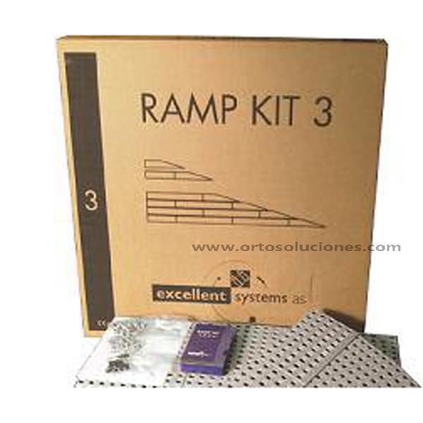 KIT Rampas 3 (7,5 hasta 11 cm)
