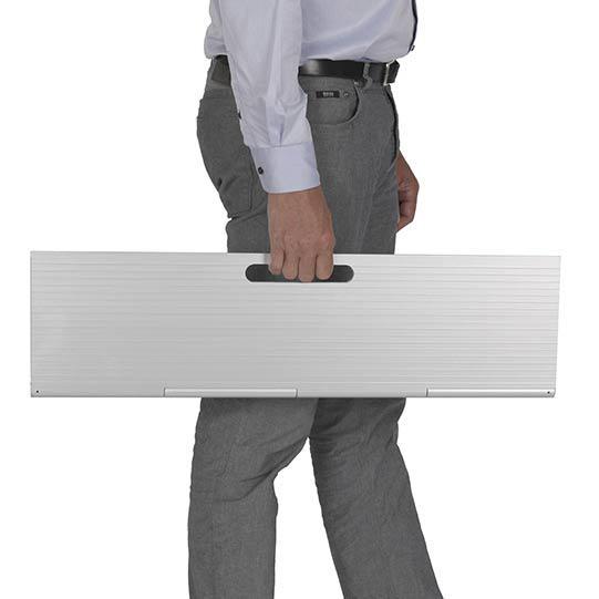 Rampa aluminio rp40 scala mini