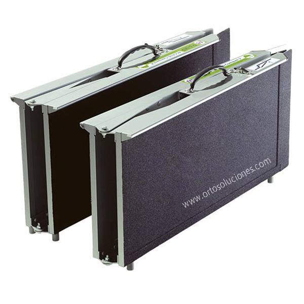 Rampas de aluminio R2P multi-plegado