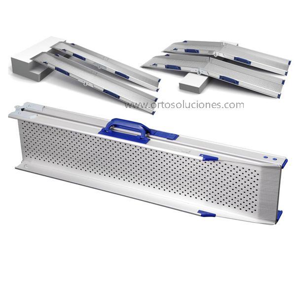 Rampas aluminio dobles RD