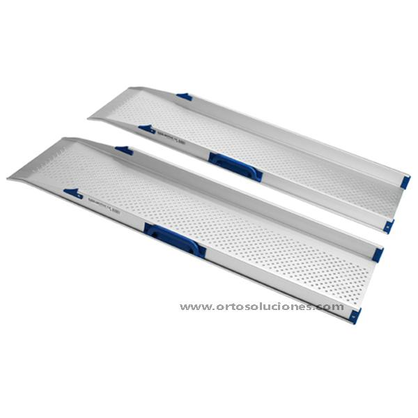 Rampas rails dobles fijo de aluminio RF1200