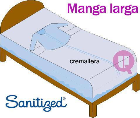 Sábanas de Sujeción Manga Larga  SANITIZED