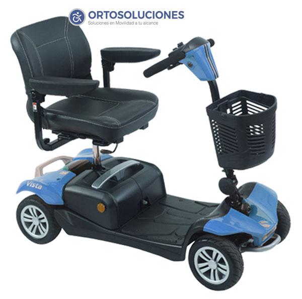 Scooter eléctrico VISTA con suspensión