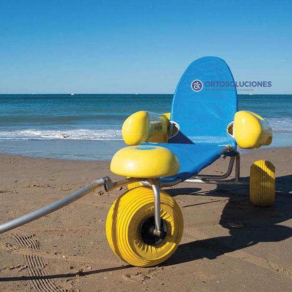 Silla anfibia para playa tiralo 2 orto soluciones - Ruedas para sillas de ruedas ...