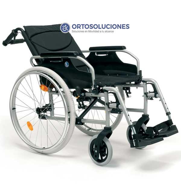 Silla de ruedas reclinable D100 30º Vermeiren