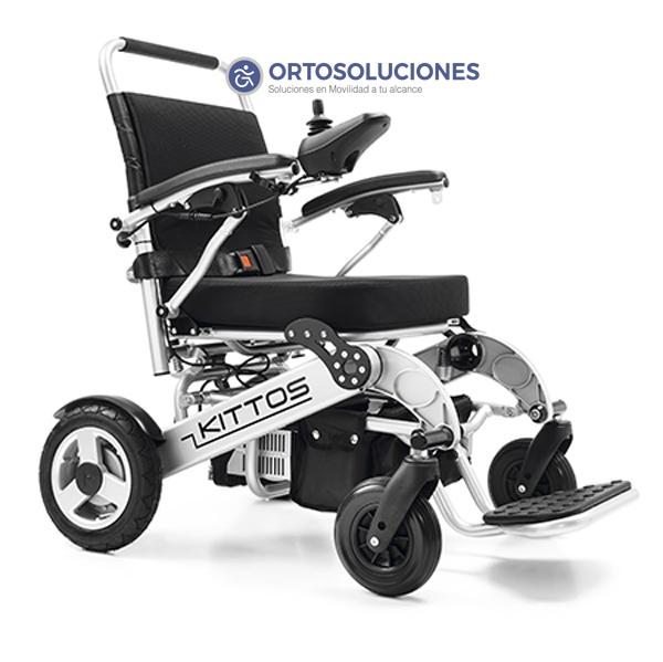 sillas de ruedas plegables de aluminio kittos